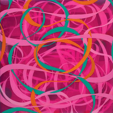 Ephemera, 2011, acrylic on wood panel, 12 x 12 in.